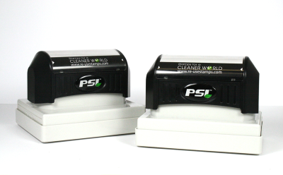 PSI self-inking flash stamps work like a self-inker, but have the print quality of a premium pre-inked stamp. A great value!