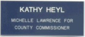 """NMTG125X3P - 1-1/4"""" X 3"""" Engraved name badge with pin backing"""