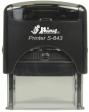Shiny S843, Shiny self-inker, Shiny self inker, Shiny, Shiny stamp, S843