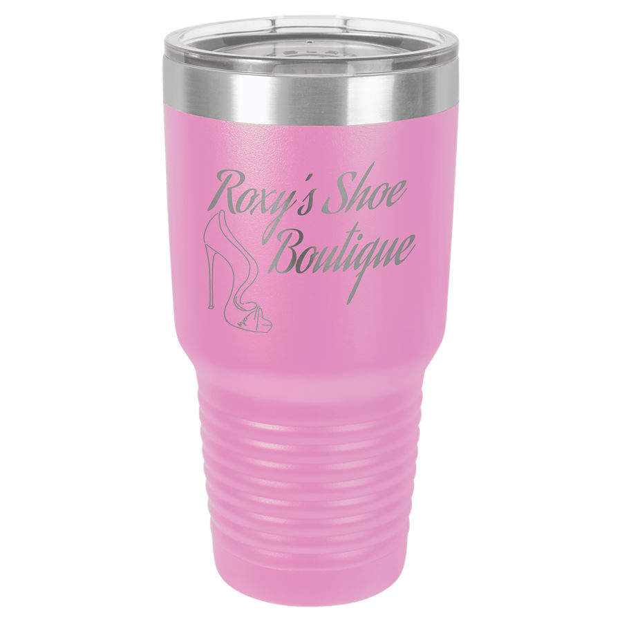 30 oz. Light Purple Polar Camel insulated tumbler.  Customizable with your personal image or saying.