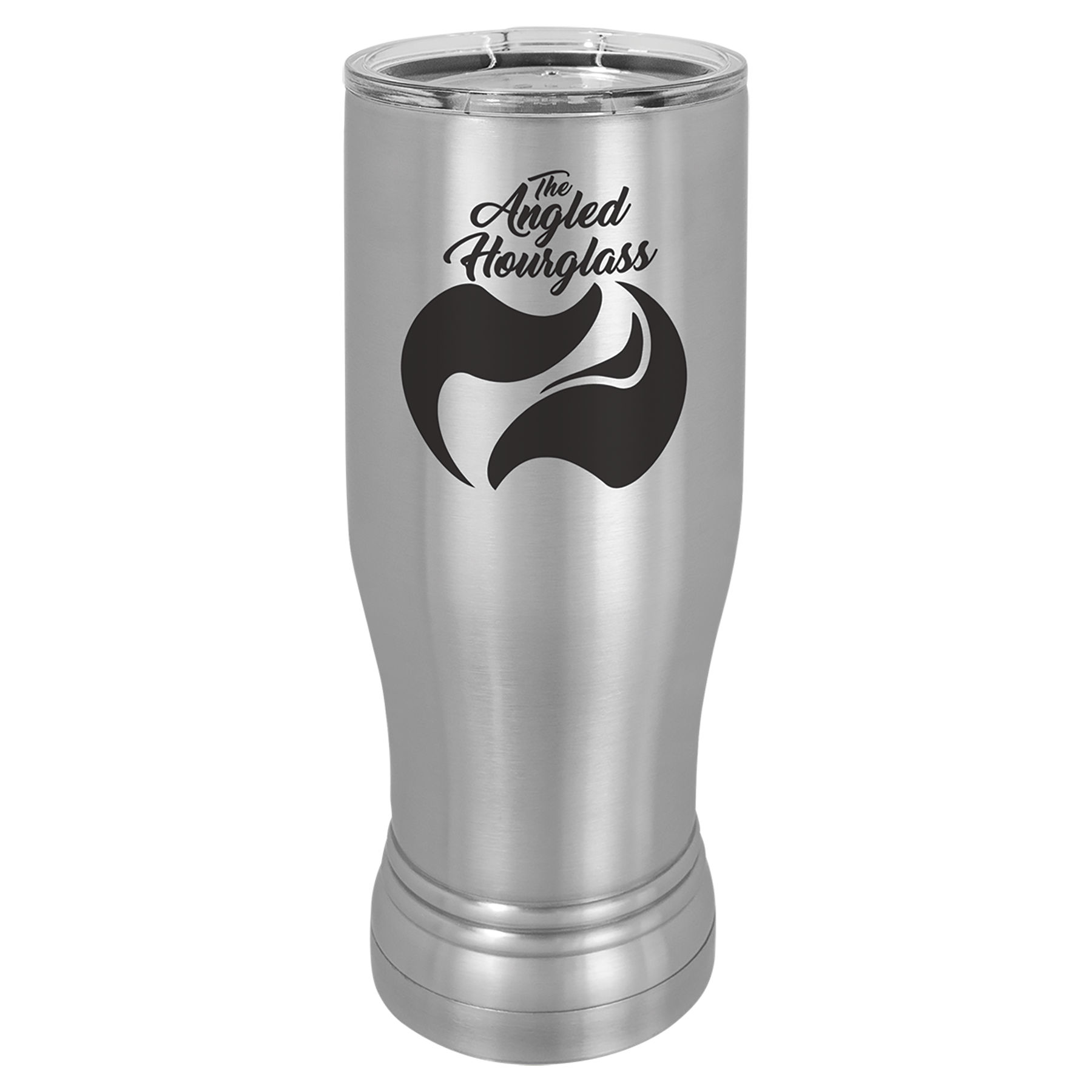 14 oz. Stainless Steel Polar Camel Pilsner.  Customizable with your personal image or saying.