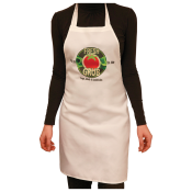 Customize this apron with your company logo or personal saying.  Makes a great gift for anyone who loves to cook or bake.