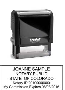 Petersen Specialty - Custom Notary Stamps for every state. Economical and re-inkable. We carry the supplies you need from custom self inking stamps, seals, log books and more. Order Today!