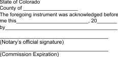 Notary acknowledgment, acknowledgment, acknowledgment stamp